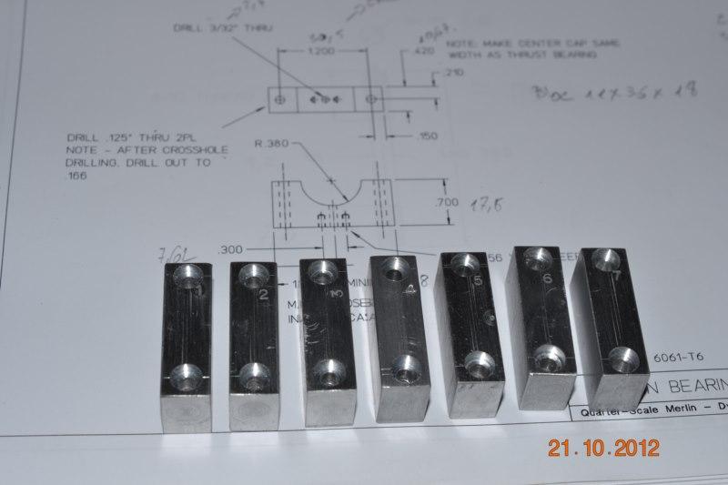 Construction du Rolls-Royce Merlin à l'échelle 1/4 13_80010