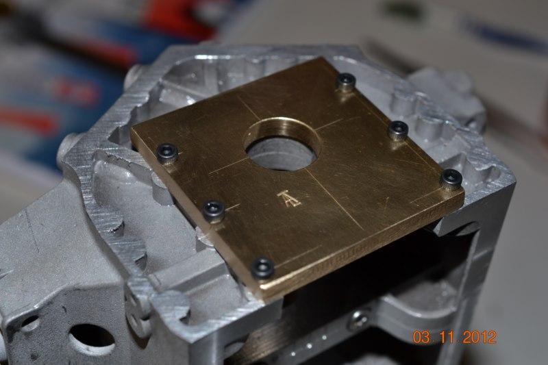 Construction du Rolls-Royce Merlin à l'échelle 1/4 25_80010