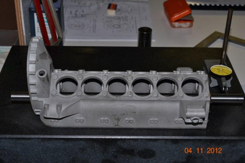 Construction du Rolls-Royce Merlin à l'échelle 1/4 29_80010