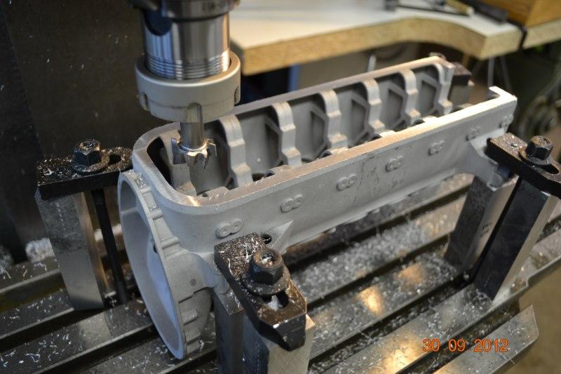 Construction du Rolls-Royce Merlin à l'échelle 1/4 7_800x10