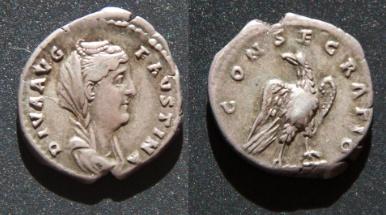 Les monnaies de Consécration de Barzus - Page 5 Faustn10