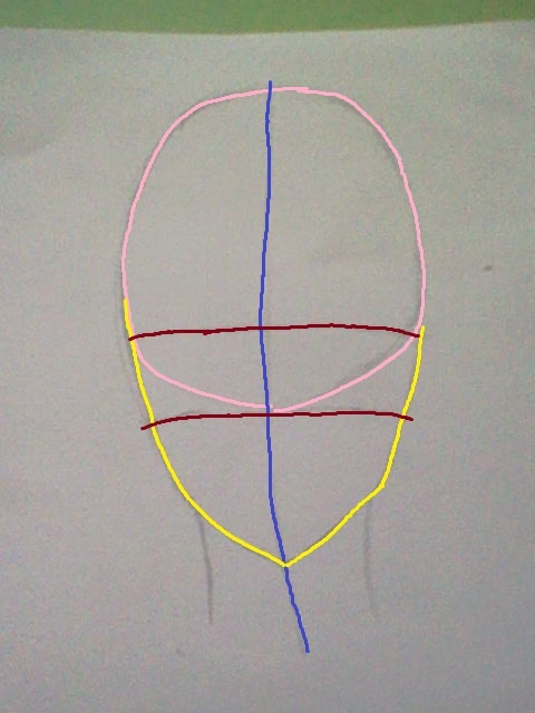 ~~ Tuto dessin et Colorisation aux crayons de couleur sur  Lucy Heartfilia ~~ Lucy_a12