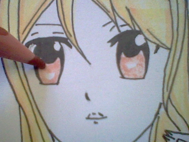 ~~ Tuto dessin et Colorisation aux crayons de couleur sur  Lucy Heartfilia ~~ Lucy_a17