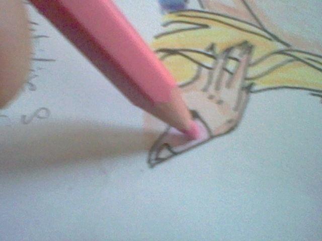 ~~ Tuto dessin et Colorisation aux crayons de couleur sur  Lucy Heartfilia ~~ Lucy_a20