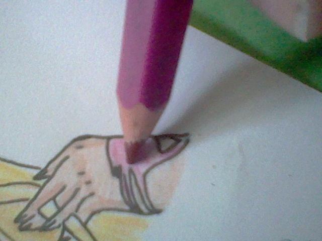 ~~ Tuto dessin et Colorisation aux crayons de couleur sur  Lucy Heartfilia ~~ Lucy_a21