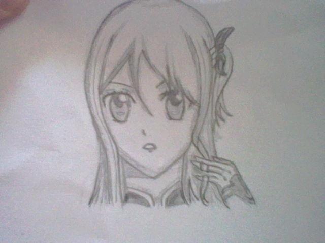 ~~ Tuto dessin et Colorisation aux crayons de couleur sur  Lucy Heartfilia ~~ Lucy_t10