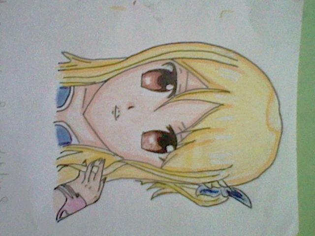 ~~ Tuto dessin et Colorisation aux crayons de couleur sur  Lucy Heartfilia ~~ Renfor10