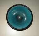 Raku bowl by Kevin Green, Sussex Dscn9413