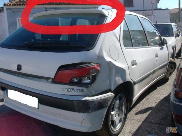 [ Vendo ] Aileron da mala - Peugeot 306 XS Fotos-10
