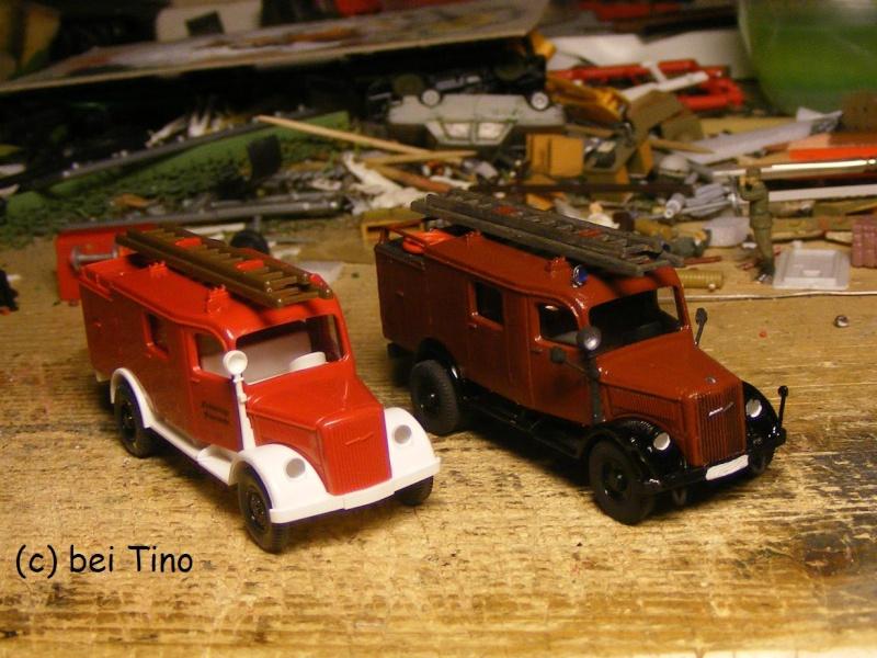 Bastel-Tinos Feuerwehr Abteilung Opel-p13