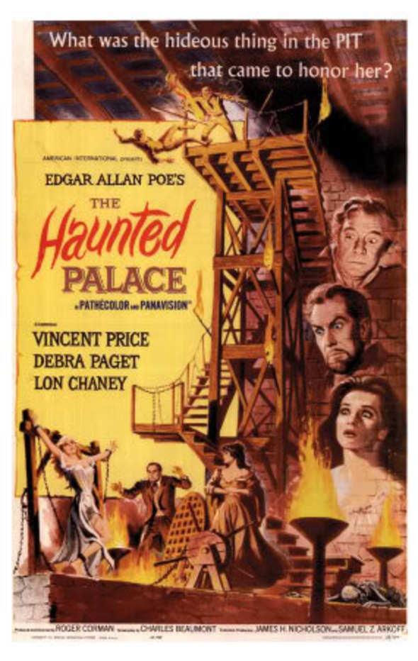 """Die Folterkammer des Hexenjägers"" ( The Haunted  Palace, USA, 1963 ) 19562710"