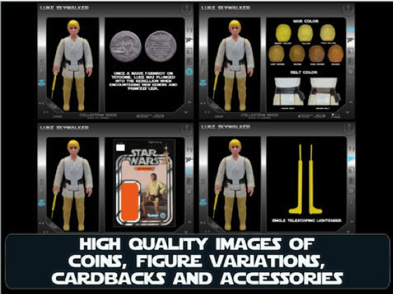 Vintage Star Wars Action Figure Collectors App Pictur20
