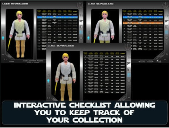 Vintage Star Wars Action Figure Collectors App Pictur23