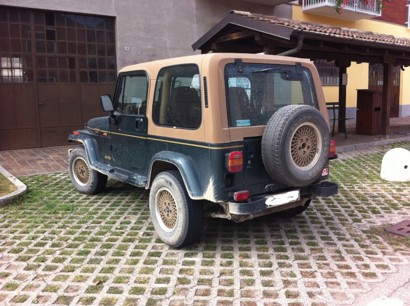 Jeep Wrangler YJ 4.0 HO Limited ...... lo compro o no? (foto interni e novità) Iphone10