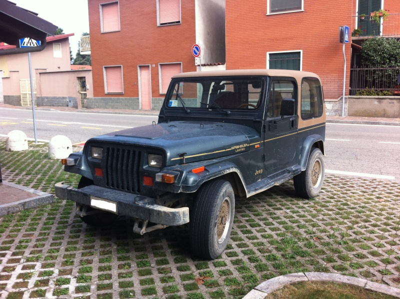 Jeep Wrangler YJ 4.0 HO Limited ...... lo compro o no? (foto interni e novità) Iphone11