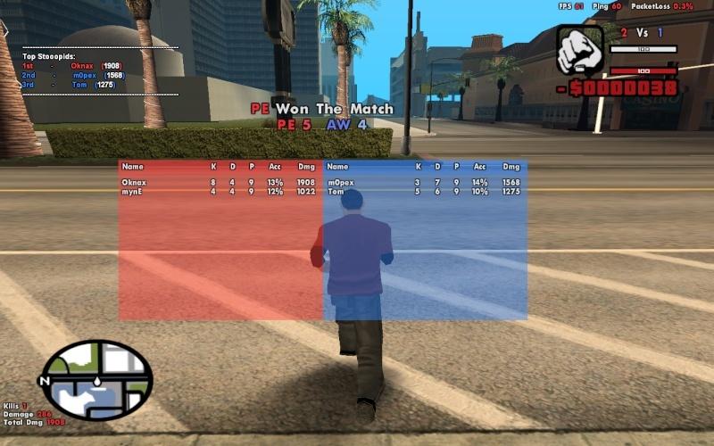 PE VS AW => PE WIN 2 time Sans_t11