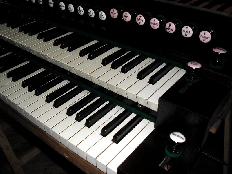 Huge 2 manual Schiedmayer art harmonium & pedal harmonium 210