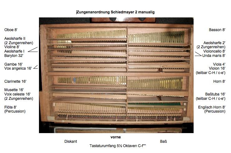 Huge 2 manual Schiedmayer art harmonium & pedal harmonium 4_tiff10