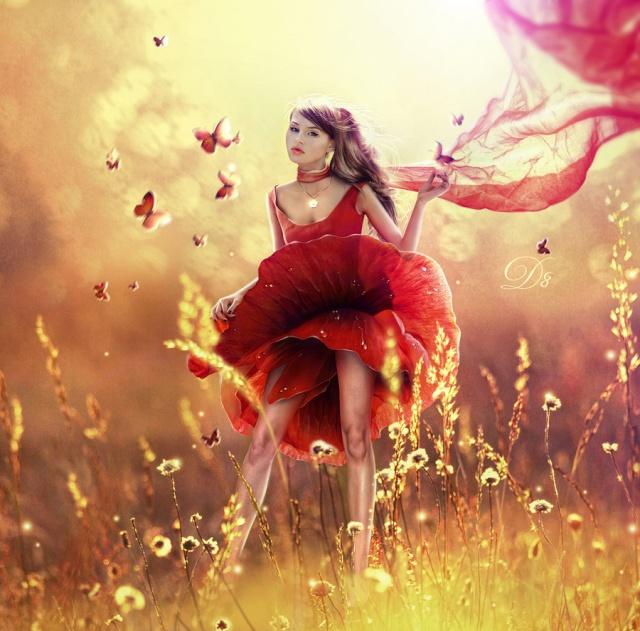 Avatars Couleur Rouge Poppy_10