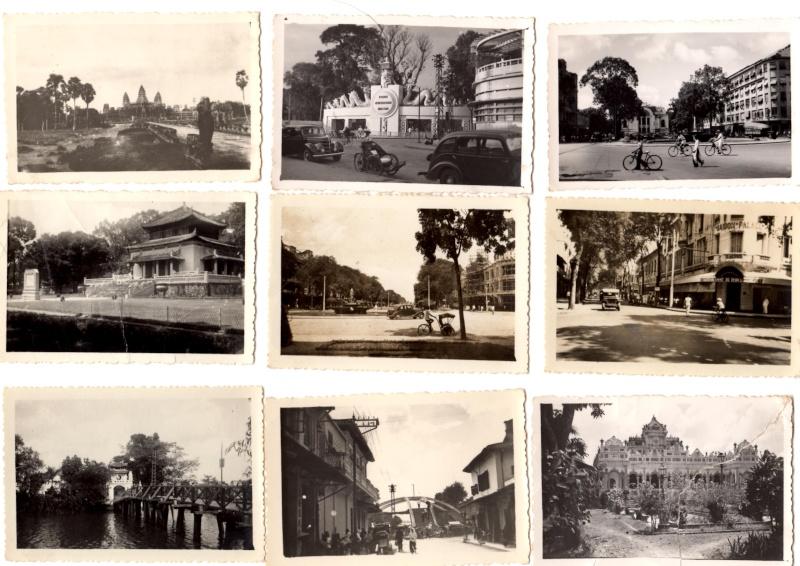 photos noir et blanc prise en indo d'une ville  Indo210