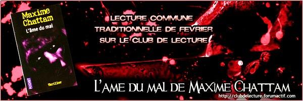 LA TRILOGIE DU MAL (Tome 1) L'AME DU MAL de Maxime Chattam 57449410