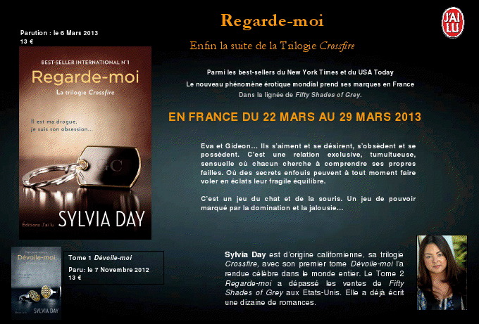 CROSSFIRE (Tome 2) REGARDE-MOI de Sylvia Day  Viewer10