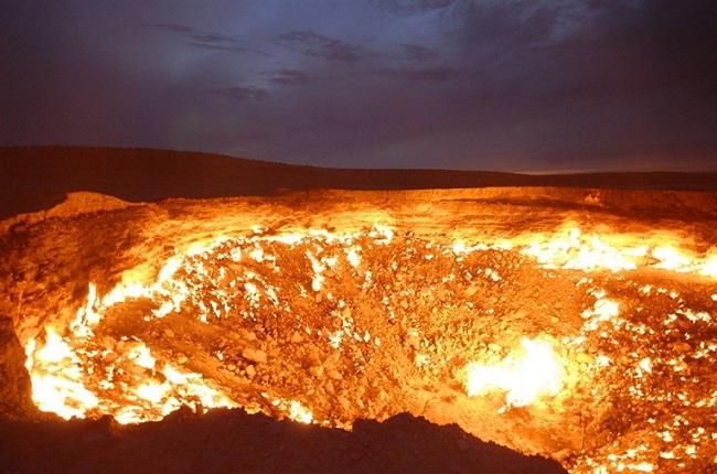 Le cratère de Darvaza Door-t10