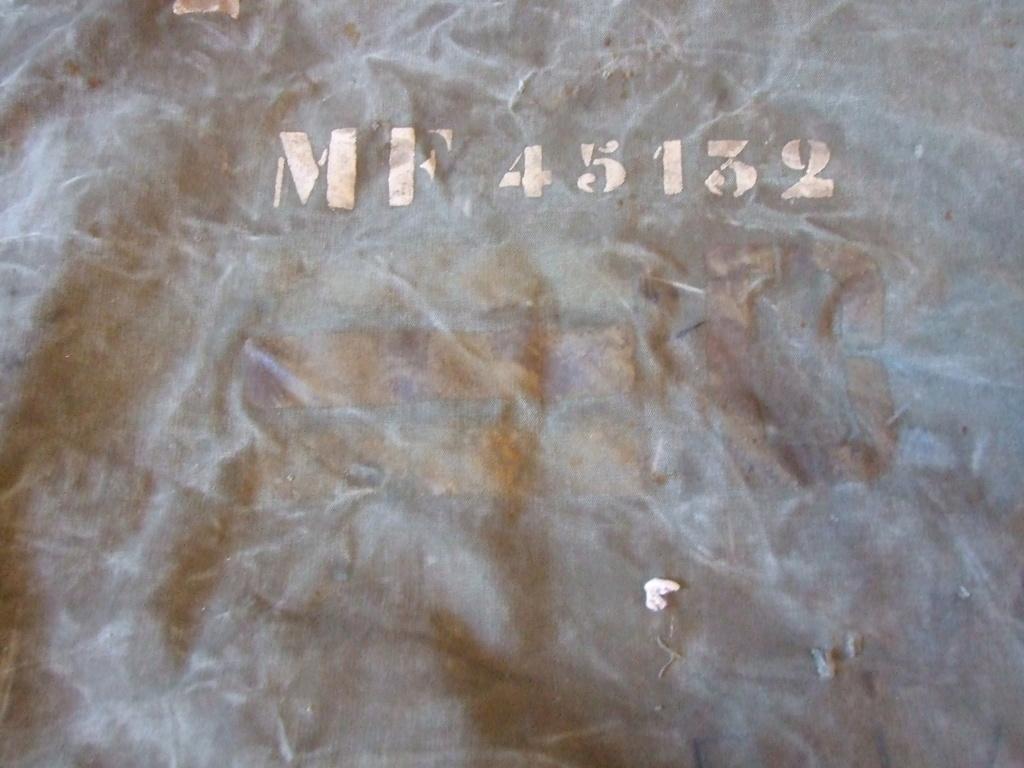 Marquages TQM sur un sac à paquetage français 1944/1945. Dscf0310