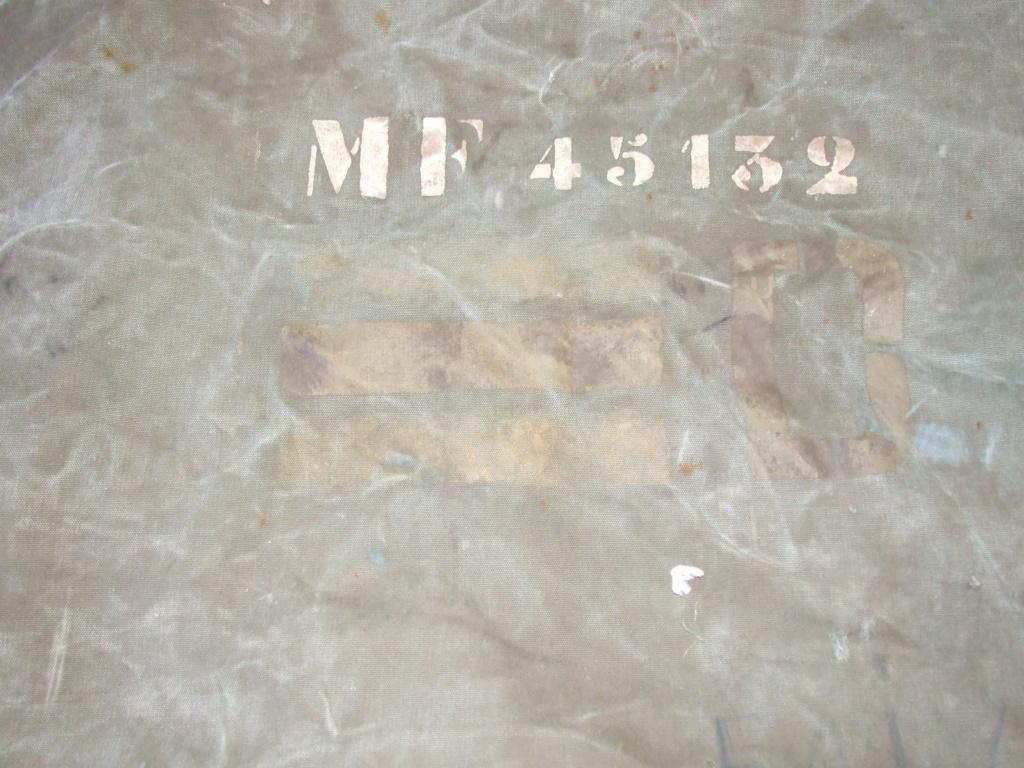 Marquages TQM sur un sac à paquetage français 1944/1945. Dscf0311