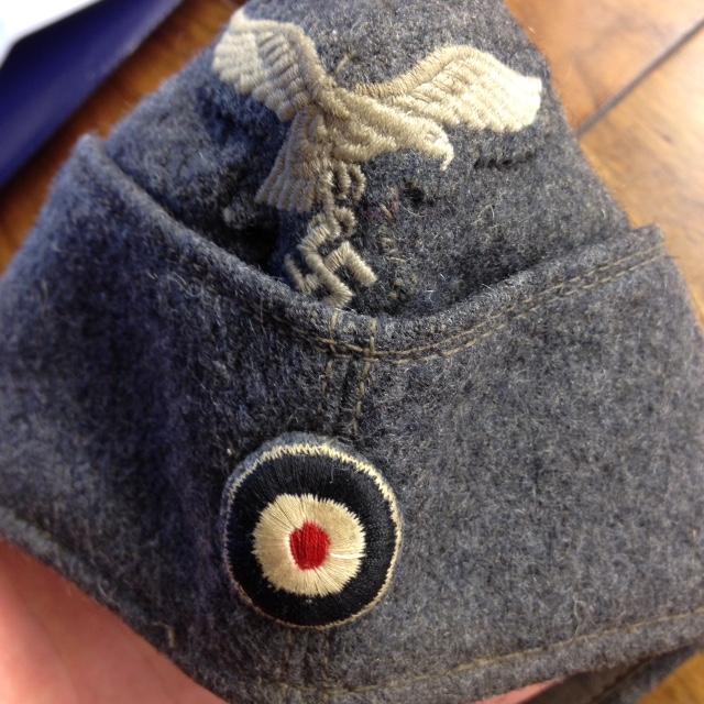 Un calot de la Luftwaffe à authentifier. Fullsi10