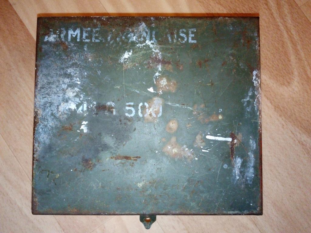 """Boite en fer """"armée française"""". Img_2276"""