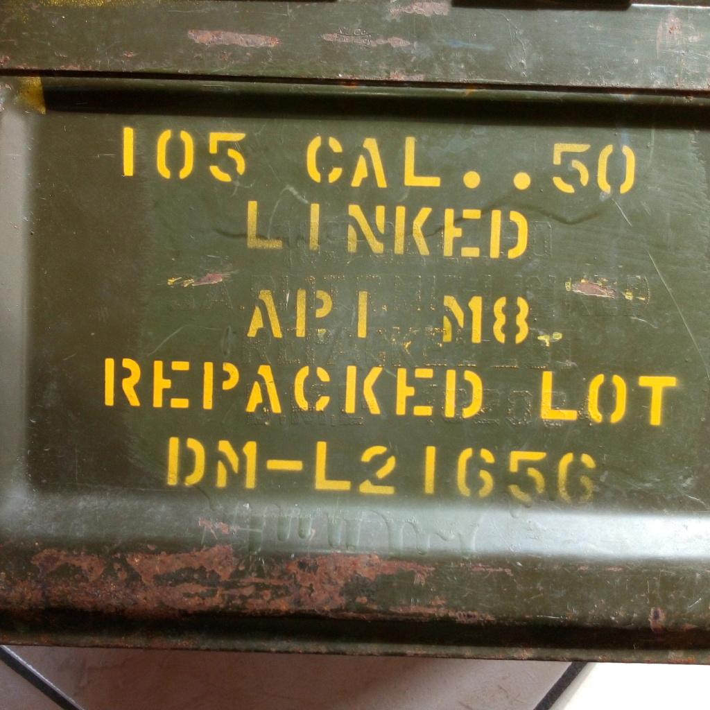 Marquages sur caisse munitions Mitrailleuse US cal 50. Img_2763