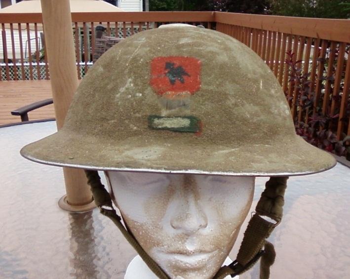 casque Irlandais, 1st Division, 1st Brigade WWII 11062910