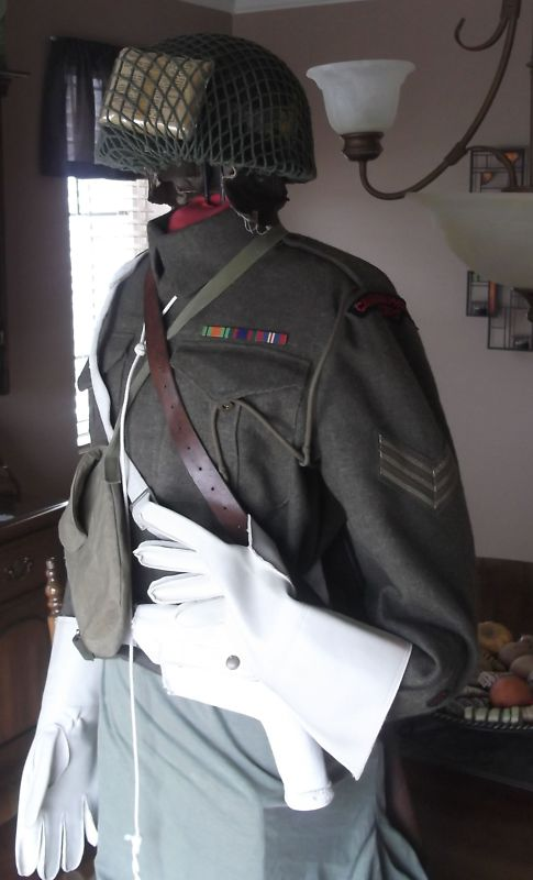 battle-dress canadian Provost Corp 1945 T2ec1615