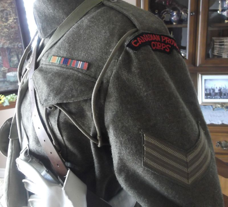battle-dress canadian Provost Corp 1945 T2ec1618