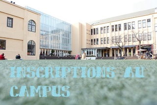 Inscriptions au Campus