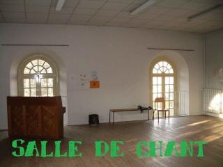 Salle de chant
