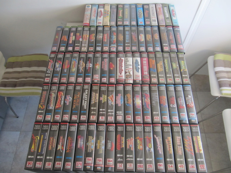 Ma collec' Neo Geo AES US Img_3230