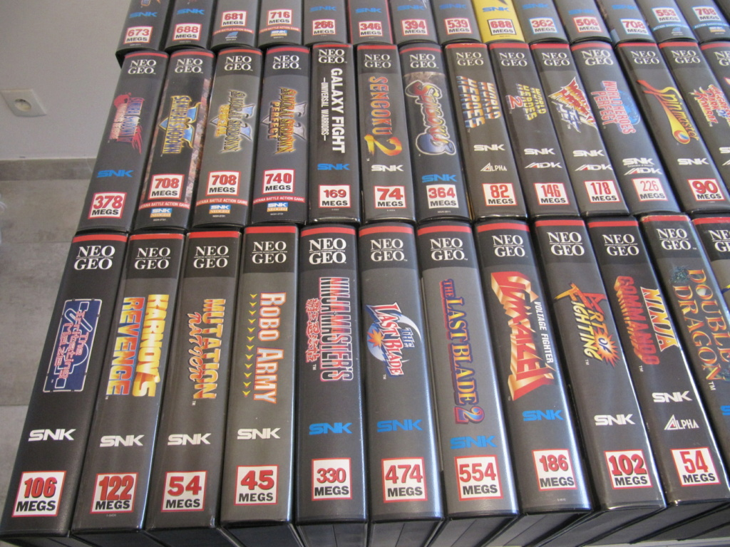 Ma collec' Neo Geo AES US Img_4517