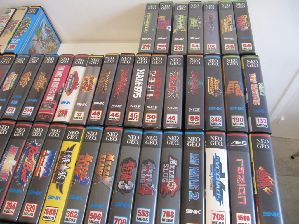 Ma collec' Neo Geo AES US Img_4518