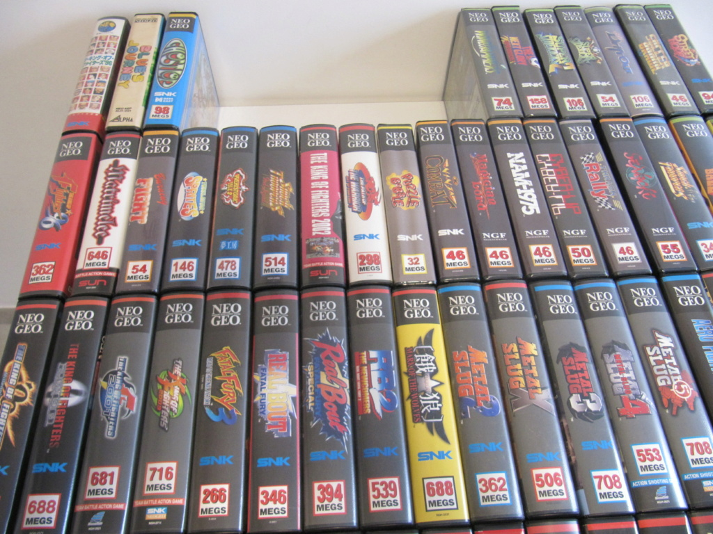 Ma collec' Neo Geo AES US Img_4519