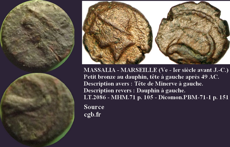 bronze au dauphin Daup3110