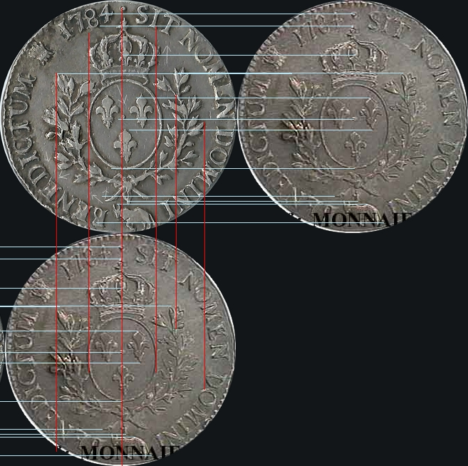 vrais ou faux écu Louis XVI  Thierr11