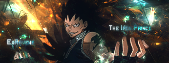 Guess who's back back back.... back again Gajeel12