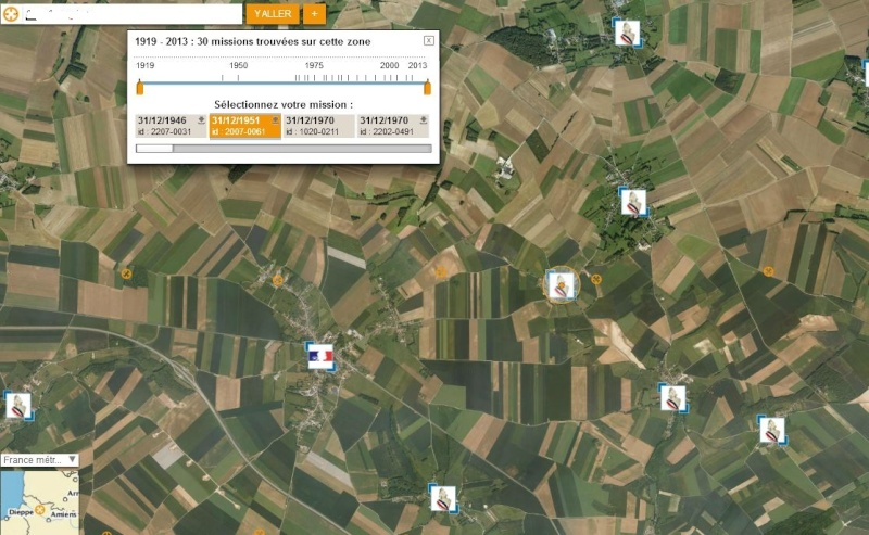 Geoportail vues aeriennes anciennes Patoga14