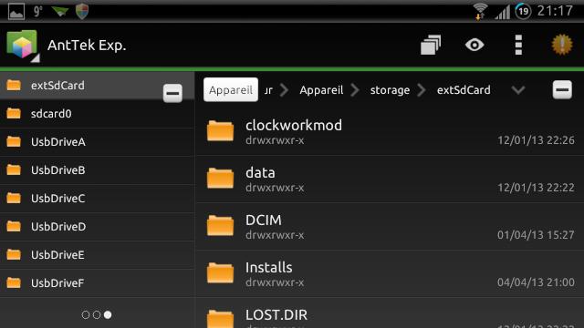 [SOFT] ANTTEK EXPLORER : Explorateur de fichiers complet et intuitif [Gratuit/Payant] Screen12
