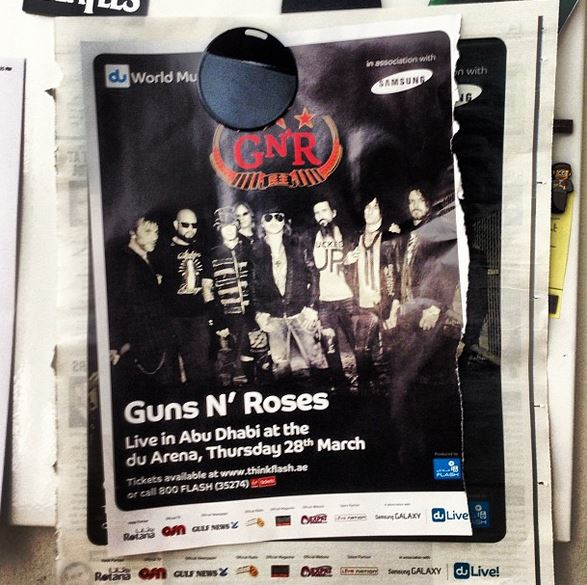 GNR Live in Abu Dhabi 9084_510