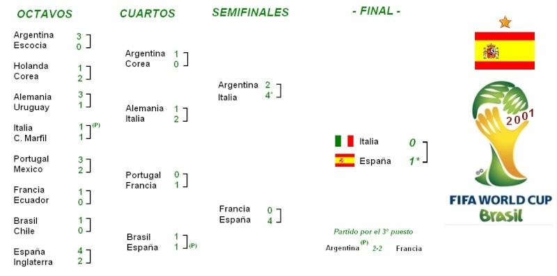 Mundial de Brasil Cuadro14