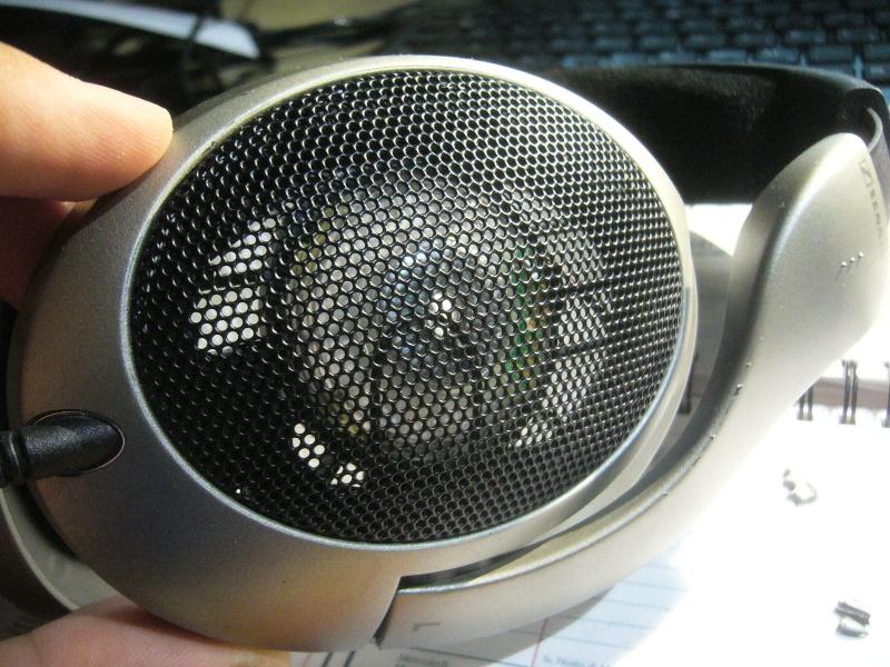 Sennheiser HD555 e modifica head-fi to HD595 P1100615