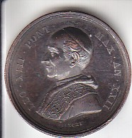 Médaille du pape LEON XIII, année 1900. Leon_110